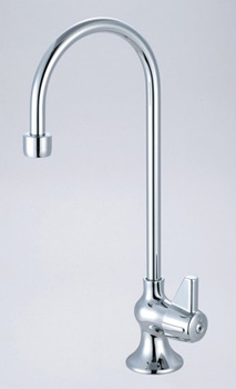 Central Brass 0286-AC Bar Faucet - Cold/ Rigid Gooseneck Spout - Chrome