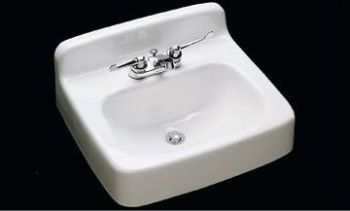 CECO Model 550 Wall Hung Cast Iron Lavatory Sink 20