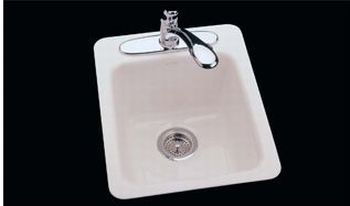 CECO Model 721-C Cast Iron Bar Sink 16