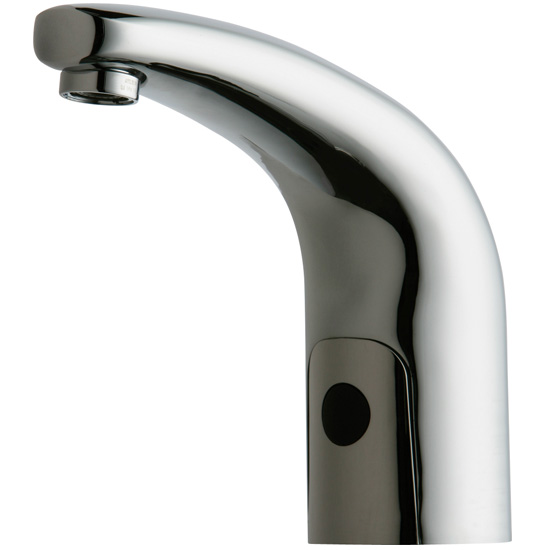 Chicago Faucets 116.101.AB.1 HyTronic Traditional Sink Faucet with Dual Beam Infrared Sensor - Chrome