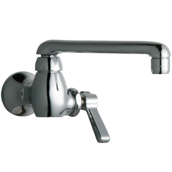 Chicago Faucets 332-E35ABCP Single Water Inlet Faucet - Chrome