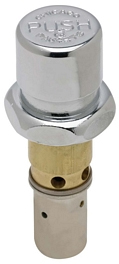 Chicago Faucet 333-XPSHJKABNF E-CAST NAIAD Metering Fast Cycle Time Closure Cartridge - Chrome