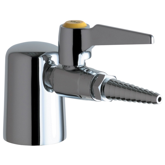 Chicago Faucets 980-909CAGCP Turret with Single Ball Valve - Chrome