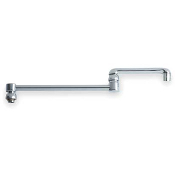 Chicago Faucets DJ18JKCP Double Jointed Swing Spout - Chrome