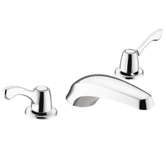 Cleveland Faucet Group 40411 Cornerstone Wing Handle Garden Tub Filler Trim Kit - Chrome