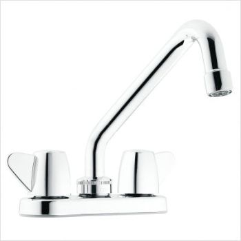 Cleveland Faucet Group 40812 Cornerstone Two-Handle Laundry Faucet - Chrome