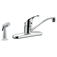 Cleveland Faucet Group CA47513 Flagstone Single-Handle Kitchen Faucet with Spray - Chrome