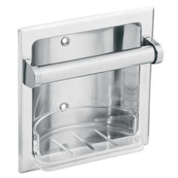 Moen 2565CH Creative Specialties Recessed Soap Holder - Chrome