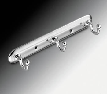 Moen 7603CH Creative Specialties Yorkshire Triple Robe Hook - Chrome