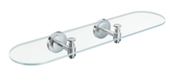 Moen DN0790CH Creative Specialties Iso Glass Shelf - Chrome