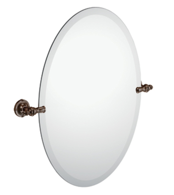 Moen DN0892ORB Creative Specialties Oval Tilt Mirror - Oil Rubbed Bronze