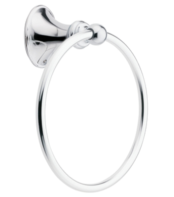 Moen DN2686CH Creative Specialties Glenshire Towel Ring - Chrome