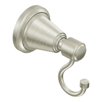 Moen DN3603BN Creative Specialties Bradshaw Robe Hook - Brushed Nickel