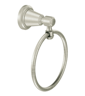 Moen DN3686BN Creative Specialties Bradshaw Towel Ring - Brushed Nickel