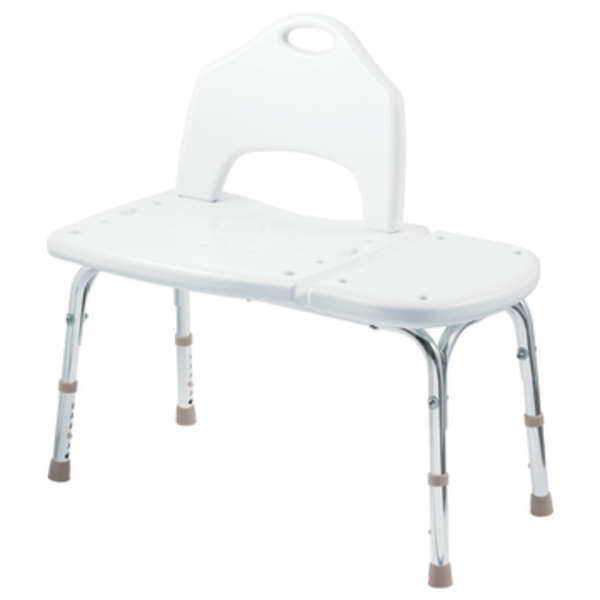 Moen DN7065 Creative Specialties Home Care Tool-Free Transfer Bench - Glacier