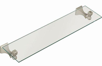 Moen DN8390BN Creative Specialties Retreat Glass Shelf - Brushed Nickel