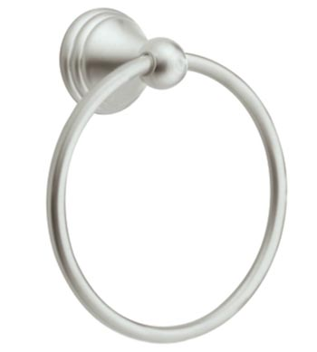 Moen DN8486MPW Creative Specialties Preston Towel Ring - Matte Pewter