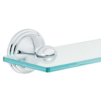 Moen DN8490CH Creative Specialties Preston Series Glass Shelf - Chrome