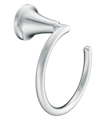 Moen YB5886CH Creative Specialties Icon Towel Ring - Chrome