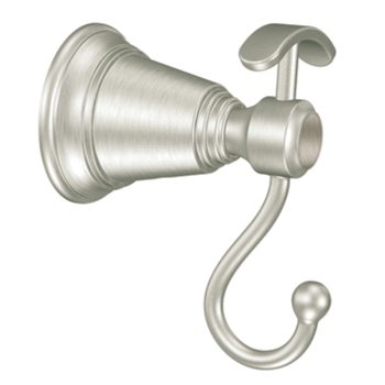 Moen YB8203BN Creative Specialties Rothbury Robe Hook - Brushed Nickel