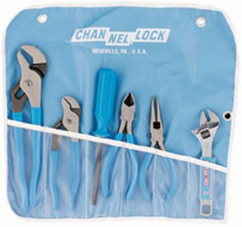 Channellock GP-7 Tool Roll. 420,426,326,436, 808 and a MX-41EZ