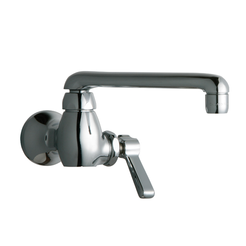 Chicago Faucets 332-ABCP Single Supply Sink Faucet - Chrome