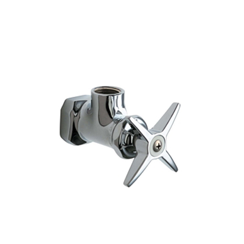 Chicago Faucets 442-ABCP Angle Stop Fitting - Chrome