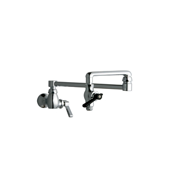Chicago Faucets 515-ABCP Pot and Kettle Filler - Chrome