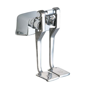 Chicago Faucets 625-LPABCP Commercial Long Pedal Valves - Chrome