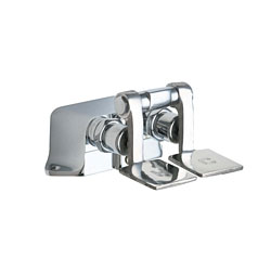 Chicago Faucets 625-SLOABCP Commercial Pedal Valves - Chrome