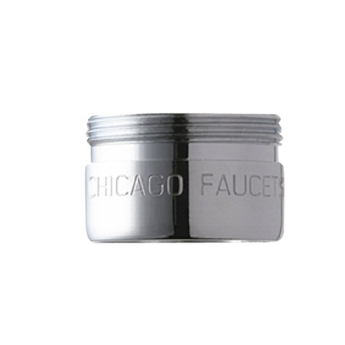 Chicago Faucets E39VPJKABCP 0.35 GPM (1.3 L/min) Vandal Proof Non-Aerating Outlet Pressure Compensating Econo-Flow