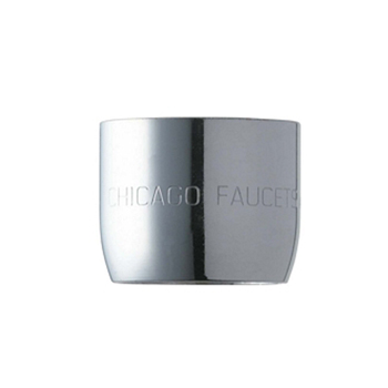 Chicago Faucets E3JKABCP 2.2 GPM Aerator Pressure Compensating Softflo - Chrome