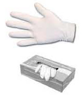Christy's 2800-L Latex Disposable Gloves-Large