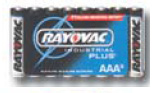 Christy's AL-AAA8 Alkaline Battery AAA size bulk pack Industrial 8-pack