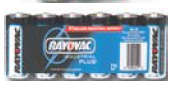 Christy's AL-D6 Alkaline Battery D size bulk pack industrial-6 Pack