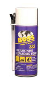 Christy's BOSS 333-16 Polyurethane Expanding Foam - 12 oz