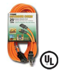 Christy's C2316100 100 FT Outdoor Vinyl Extension Cord
