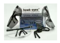 Christy's HE-M Mirrored Safety Glasses-Oakley Style