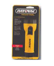 Christy's IN2-K Rayovac Industrial 2 cell D size Flashlight