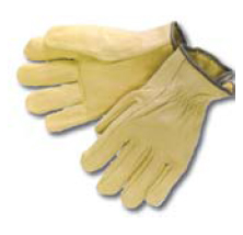 Christy's L1594L Fleece Lined Leather Drivers Glove-Large