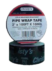 Christy's TA-33-PW21 Pipewrap Tape 2 inch  Wide x 100' 10 mil thick