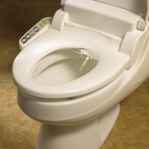 Church 1898 Purite Personal Cleansing Spa Toilet Seat White