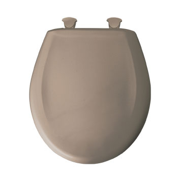 Bemis 200slowt 018 Round Closed Front Toilet Seat With