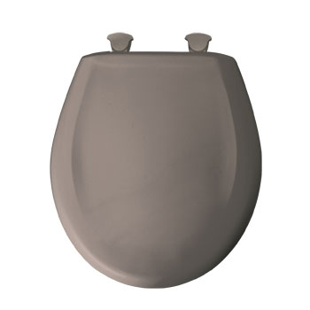 Bemis 200slowt 468 Round Closed Front Toilet Seat With