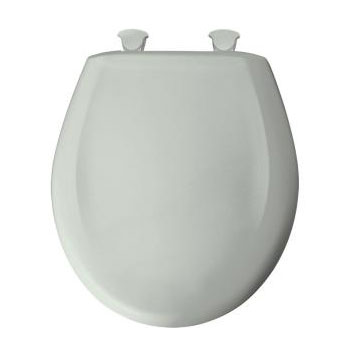 Bemis 200SLOWT.495 Round Closed Front Toilet Seat with Cover - Sage