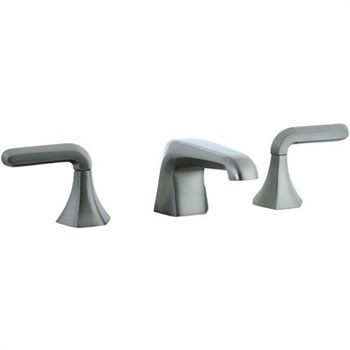 Cifial 201.110.620 Hexa 3-Hole Widespread Lavatory Faucet - Satin Nickel