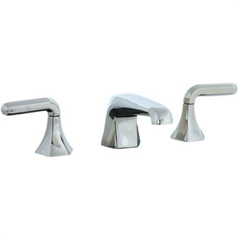 Cifial 201.110.721 Hexa 3-Hole Widespread Lavatory Faucet - Polished Nickel