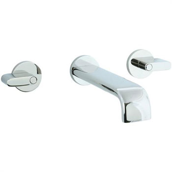Cifial 231.156.721 Techno M3 Wall Mount Lavatory Faucet - Polished Nickel