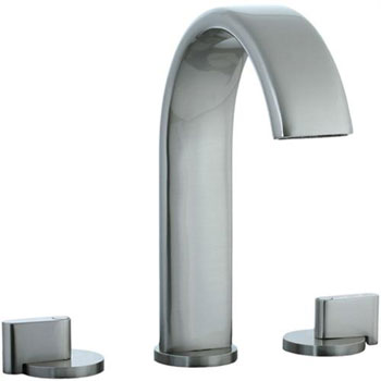 Cifial 231.650.620 Techno M3 Roman Tub Filler Trim - Satin Nickel