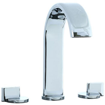 Cifial 231.650.625 Techno M3 Roman Tub Filler Trim - Chrome